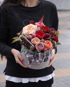 всё тепло зимы в уютной коробочке #anflor #anflor_flowerbox