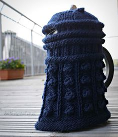 Look you can Dalek your new Kettle!!  10 FREE Doctor Who Patterns For Mega Fans