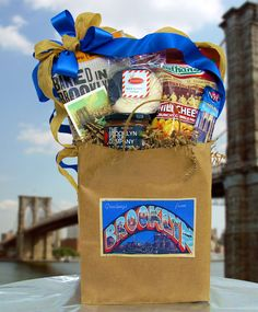 Custom Gift Baskets For All Occasions. Featuring New York Themed Gifts. Available in the New York City Area and immediate nationwide shipment. & 9 Best NYC Gift Basket Design Studio images | Gift Basket Gift ...