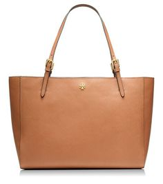 YORK BUCKLE TOTE - LUGGAGE - If only.