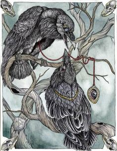 Hugin and Munin.