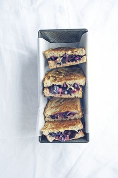 Red Cabbage Grilled Sandwiches
