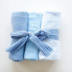 Ombre Gauze Swaddling Blankets