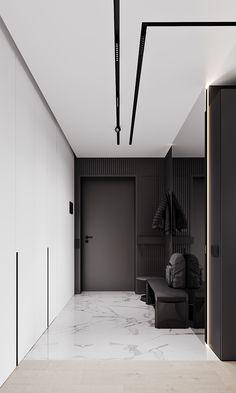 Modern Interior Design, Interior Architecture, Home Room Design, House Design, Flur Design, Neoclassical Interior, Modern Luxury Bedroom, Home Entrance Decor, Home Decor