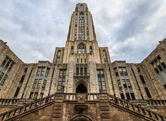 University of Pittsburgh . Cathedral of Learning. Cathedral of Learning. The tallest educational building in the Western Hemisphere University Of Pittsburgh, Pittsburgh Pa, Pitt University, University Store, Architecture Design, The Places Youll Go, Just In Case, Cathedral, Tours
