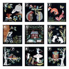 Image de C'EST MA NATURE   blocs individuels - fiche dame de la forêt