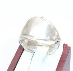 Nostalgischer Bestecksilberring Gr.17,5 mm  SR145 von Atelier Regina auf DaWanda.com