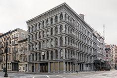 © Marc Yankus, Haughwout Building.  Marc Yankus, The Secret Lives of Buildings - The Eye of Photography