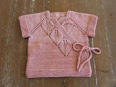 Different And Stylish Baby Vest Models – Knitting And We Baby Cardigan, Baby Pullover, Knitting Blogs, Knitting For Kids, Easy Knitting, Baby Girl Patterns, Baby Knitting Patterns, Bebe Baby, Stylish Baby