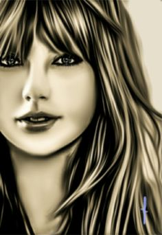 #TaylorSwift #photoshop #art #photopainting #sketch #grayscale #painting #music