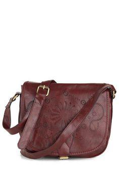 Leather satchel with classic design