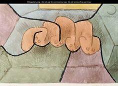 Schlafende Tiere - Paul Klee