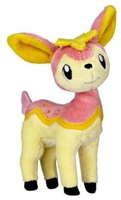 "Deerling (Pokemon) plush, 7"" - $18"