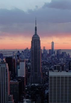 Cool GIf: Top of the Rock | Empire State Building | NYC