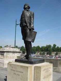 Thomas Jefferson, Quai Anatole France, Paris