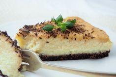 bezsernik jaglany z karmelem daktylowym Healthy Alternatives, Cheesecakes, Quiche, Cooking Recipes, Sweets, Vegan, Cookies, Breakfast, Desserts
