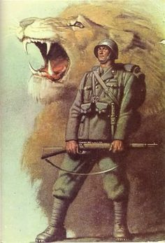 (C) Mourning the Ancient Italian Empire, Italian Army, History Posters, Ww2 Posters, Victory In Europe Day, Italian Posters, Propaganda Art, Roman History, Political Art