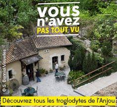 Gagnez des entrées dans les principaux sites touristiques de l'Anjou Troglodytes, Sites Touristiques, Cabin, House Styles, Home, Ride Or Die, Tourism, Cabins, Ad Home