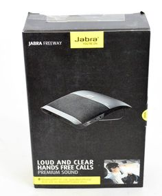 Jabra Freeway Bluetooth Speakerphone (Black) #Jabra