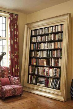Photo frame book rack