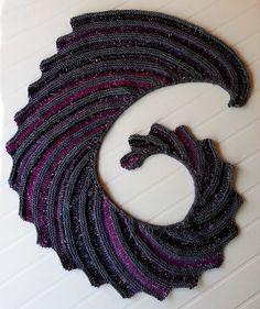 Ravelry: Godzilla Shawl pattern by Crypto Knitter FREE