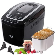 Timer f/ür frisches Brot am Morgen 2 Brotgewichte und 3 Br/äunungsgrade WMF KULT X Brotbackautomat mit 12 Programmen