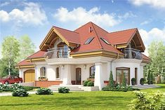 House Plans Mansion, New House Plans, Dream House Plans, Modern House Plans, Modern Bungalow House, Bungalow House Plans, 4 Bedroom House Designs, Beautiful House Plans, Modern Villa Design