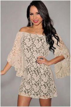 Summer Silk Lace White Dress