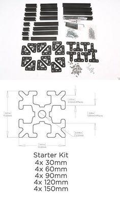 190 Best MakerBeam, OpenBeam, MicroRax, etc. Creations