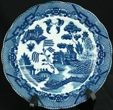 My favourite china pattern- I love blue willow