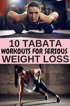 Tabata Workouts For Beginners: 10 Workouts For Serious Weight Loss from Tiffany Jones Losing Weight Tips, Weight Loss Goals, Easy Weight Loss, Weight Loss Motivation, Healthy Weight Loss, Lose Weight, Exercise Motivation, Weight Loss Diets, Fitness Workouts