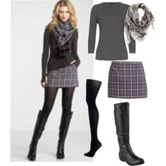 One of the main things I love about fall is the clothing. Designers really outdo themselves with fall fashion. The colors are rich, the fabrics have texture/depth and the looks are just chic.     The looks that I selected represent my fall style. For me, it's lots of grays and blacks, though I love the warm colors, I don't play with them as much as I should. I also like a casual chic look; nothing too fussy, nothing too  ornate, decorative, or tight. The effortless sexy look is for me.