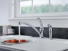 Delta B3310LF Foundations Core-B Single Handle Kitchen Faucet