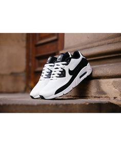 45862fb5a7 Nike Air Max 90 Ultra 2.0 Essential White/Black Mens Trainers Cheap