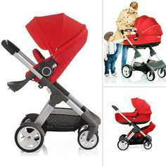 """Just after the ABC Kids Expo ended, Stokke announced the introduction of its first stroller in nine years. The Crusi ($1,430) will use the same seat as the current Xplory (with five seating positions, from bassinet carry cot to """"highchair"""" that places tots at the right height to dine at the table), making it suitable from birth to 33 pounds. The change comes with the ability to add a """"sibling seat"""" (or rumble seat) at the bottom of the stroller. The buggy should be available in February…"""