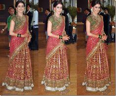 bollywood wedding sarees collection (13)