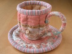 Quilted Teacup & Saucer 5 | Flickr - Photo Sharing!