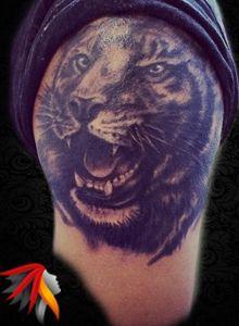Tiger Tattoo Work Artist: by Mali www.malitattoo.com