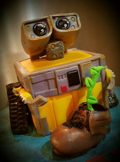 Wall-E Wall E, Cake Toppers, Cakes, Toys, Pastries, Torte, Gaming, Games, Cake