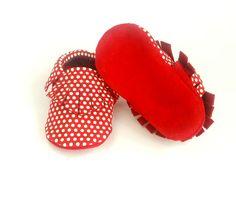 Moks- baby leather moccasins