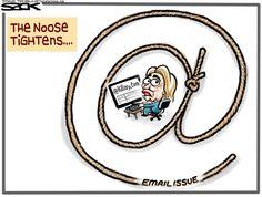 Steve Sack - The Minneapolis Star Tribune - Hillary Emails