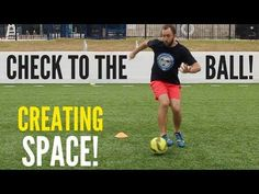 How To Become A BETTER Midfielder In Soccer | Soccer Drill - YouTube