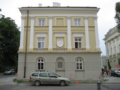 Chopin's family home in Warsaw