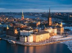 And because I'm swedish, I'd like to go to Sweden one day!
