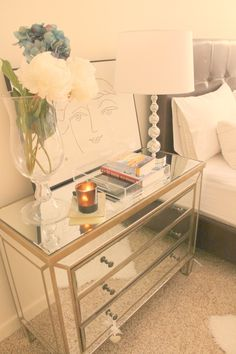 Hello Glamistas! Since my bedroom decor always receives such a warm welcome from you, I thought I share with you three ways I decorate my nightstand. No matter the decor pieces I pick, I always try…
