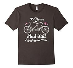 35th wedding anniversary t shirt 35 years together gift idea http