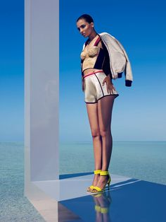 936659991d8 True Colors  Carola Remer by Camilla Akrans for H M Magazine Summer 2012