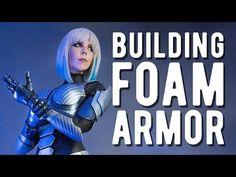 Full EVA Foam Armor - Medion Erazer Girl - YouTube