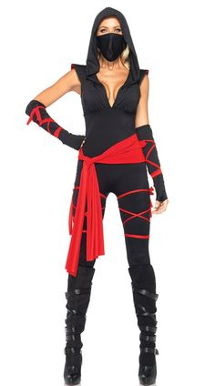 Halloween New Sexy Women Ladies Female Ninja Costume Cosplay Lingerie Women Top…