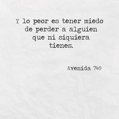 Avenida Photo Source by palaciosherrera The post Avenida Photo Love Quotes appeared first on Quotes Pin. Doing Me Quotes, Sad Love Quotes, Strong Quotes, Mood Quotes, Life Quotes, Qoutes, Words Can Hurt, Love Words, Spanish Quotes Love